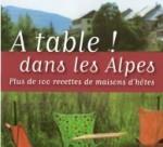 Livre: A table dans les Alpes