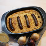 Crapaud dans le trou - toad in the hole